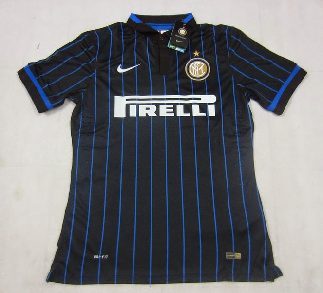 Jersey Inter Milan Home 14-15 Official Player Issue
