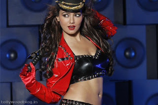 Sana Khan Spicy Pictures from item song from movie Mr Nokia