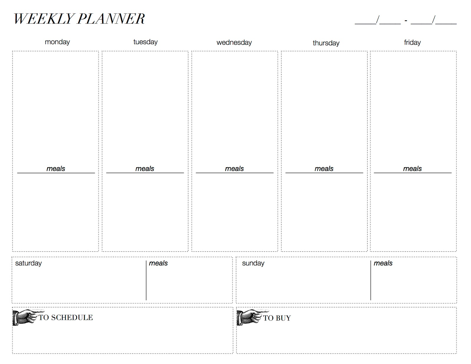 plot planner template