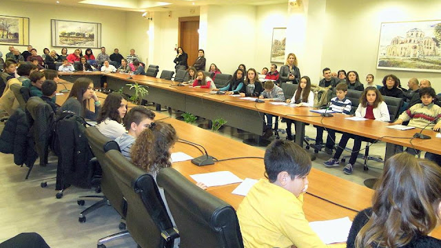 Πραγματοποιήθηκε η συνεδρίαση του Δημοτικού Συμβουλίου Παίδων του Δήμου Αλεξανδρούπολης