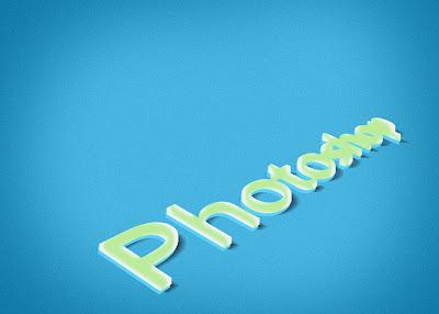 Membuat Tulisan 3D Dengan Photoshop 15
