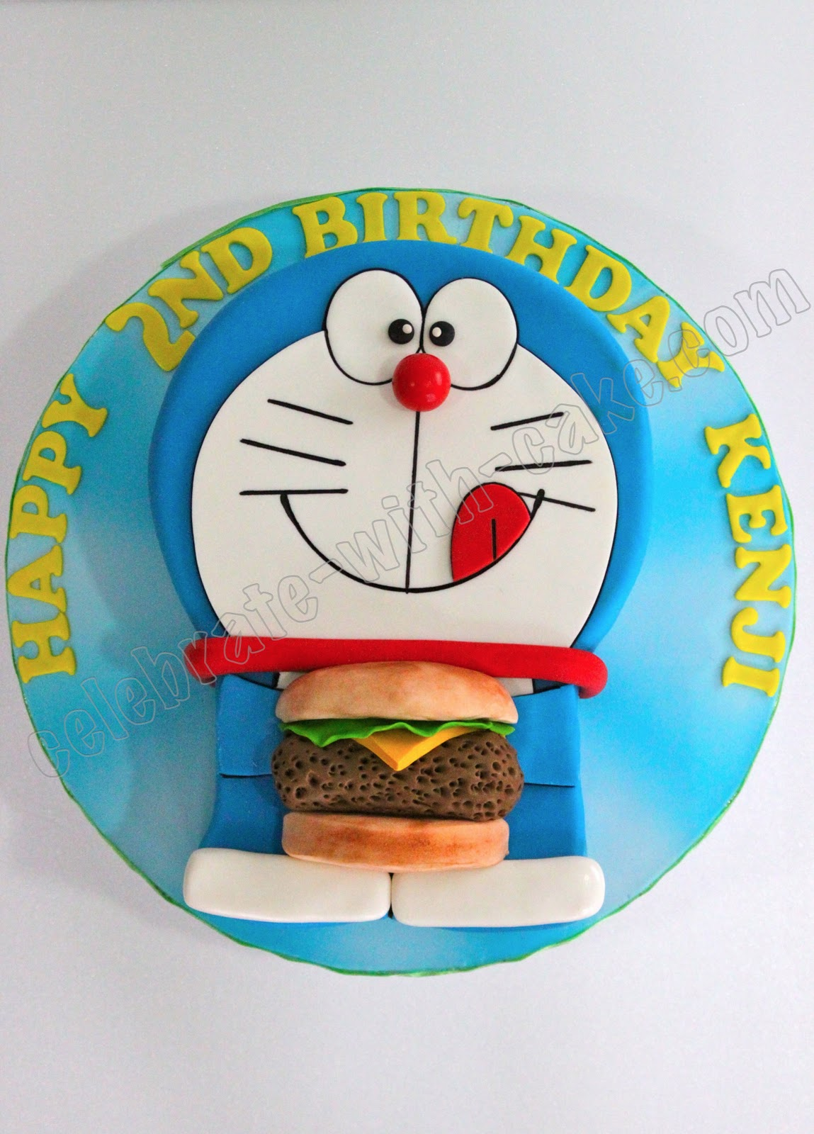 Cake Design Doraemon : Celebrate with Cake!: Doraemon Cake