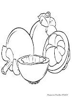 Download gambar mewarnai buah manggis dibawah ini yang telah ...