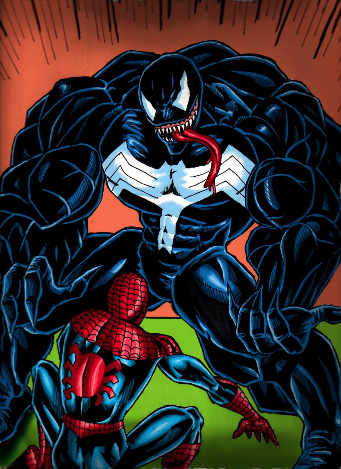 Dibujos de un mercenario: Spider-Man y Veneno
