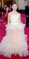Фатима Птацек на наградите Оскар 2013
