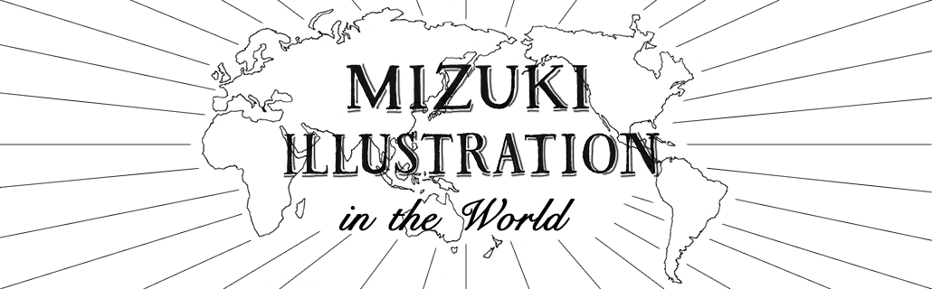MIZUKI ILLUSTRATION IN THE WORLD