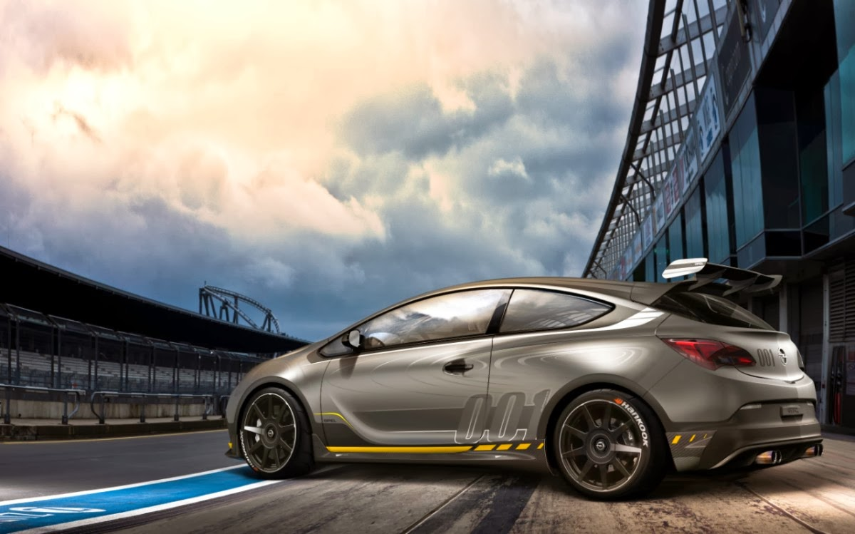 Charming Opel Astra OPC EXTREME: Super Sports Study For Geneva Motor Show 2014