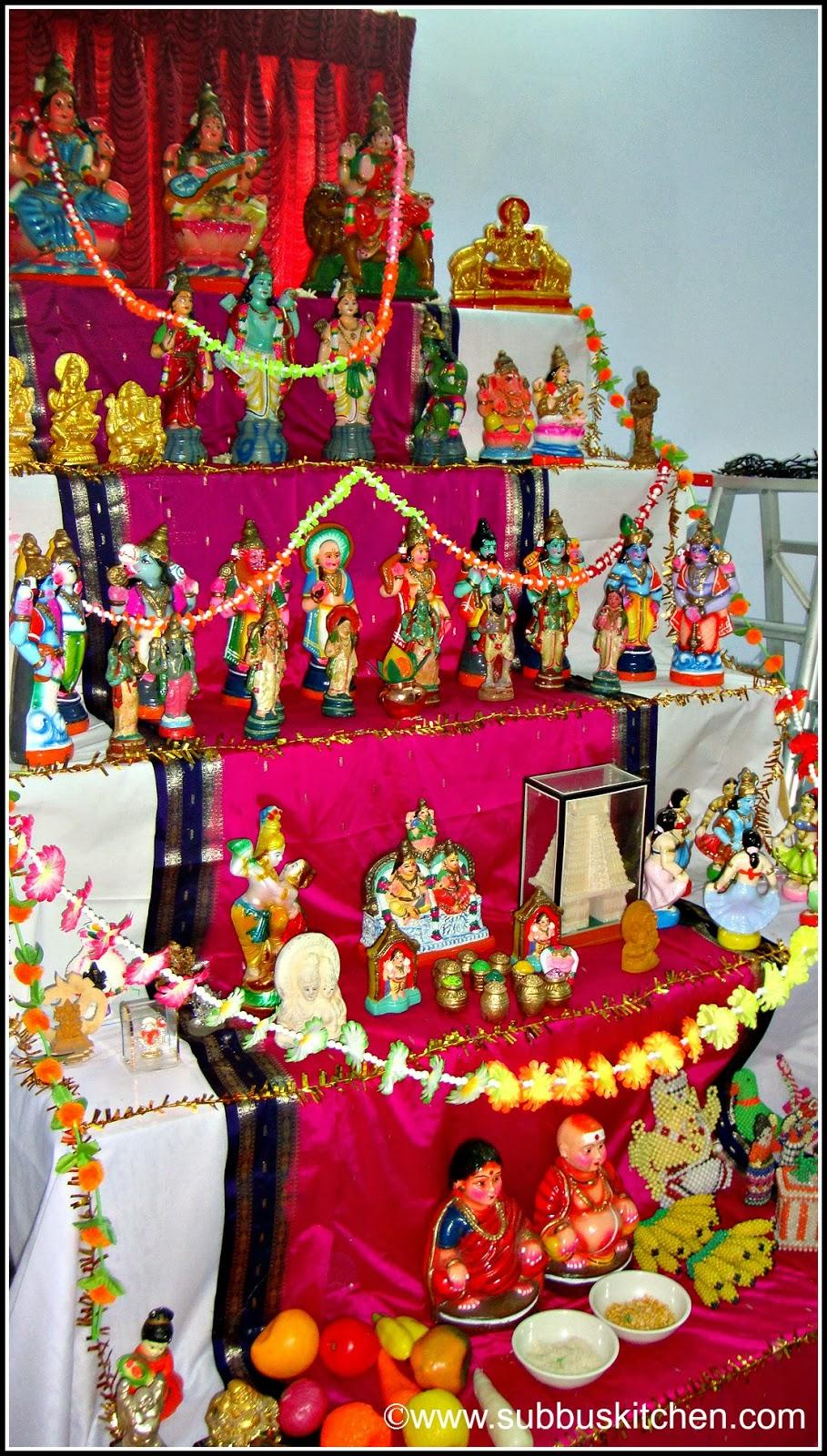 Golu Decoration Tips Navratri Subbus Kitchen