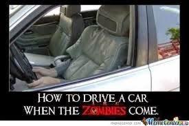Los malditos zombies.....
