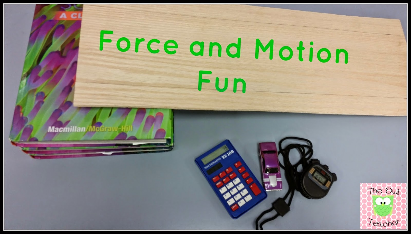 force and motion projects