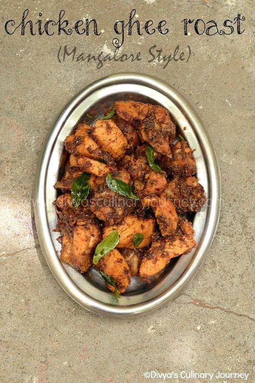 Recipe for chicken ghee roast