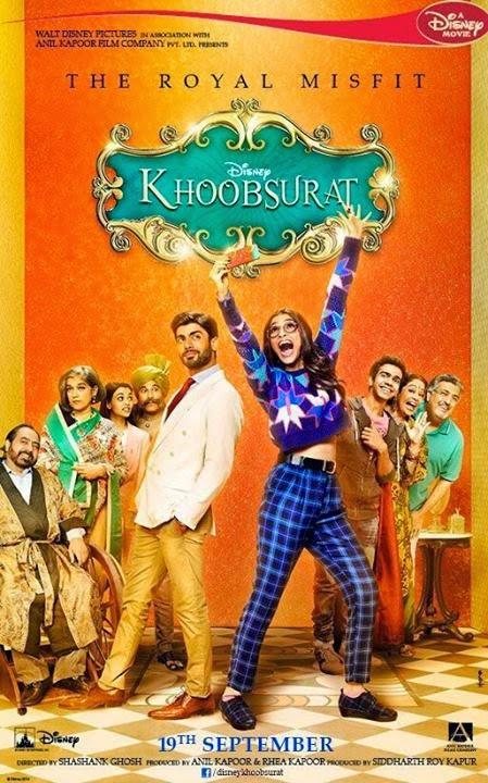 Khoobsurat 2014 Hindi DVDScr 350mb