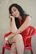 Saba Saudagar Glam photo shoot in red-thumbnail-10