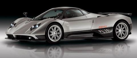 Carros mais caros do mundo em 2013 Pagani Zonda C12 F