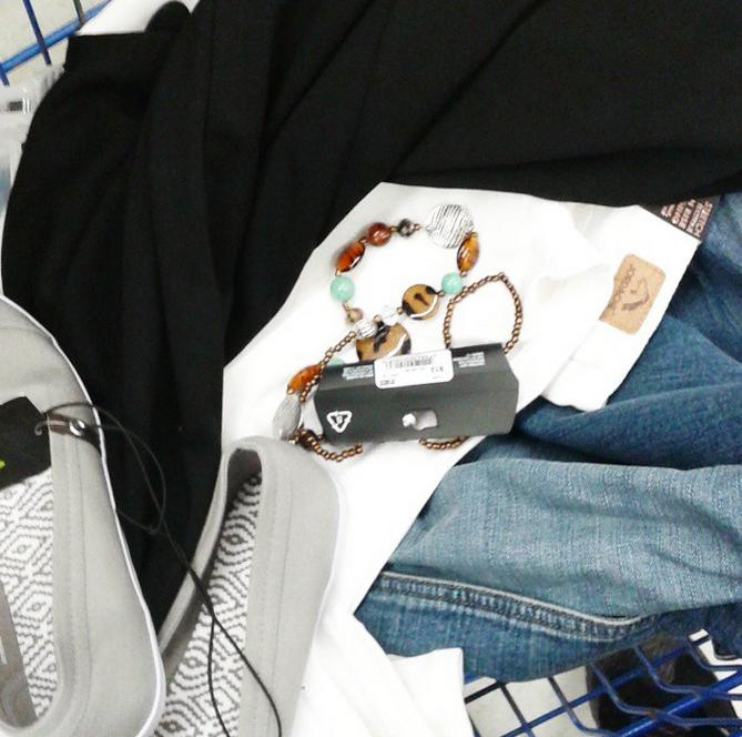 1 item 3 looks avec Walmart #ABCduPrintemps