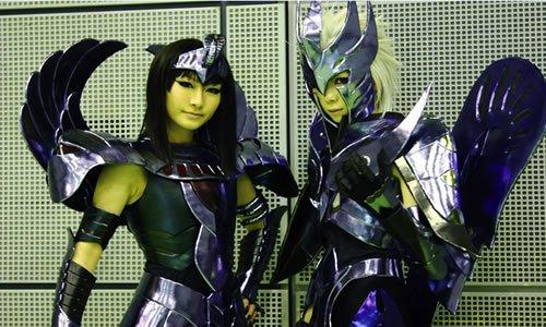 Cosplay de Shiryu y Dohko Cos6