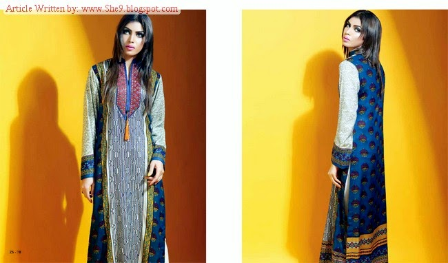 Sania Zara Kurti Designs by ZS Textiles