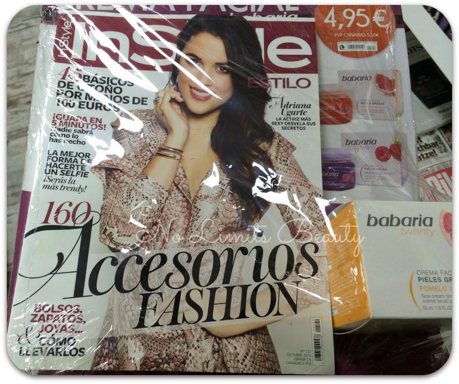 Regalos revistas Octubre 2014: In Style