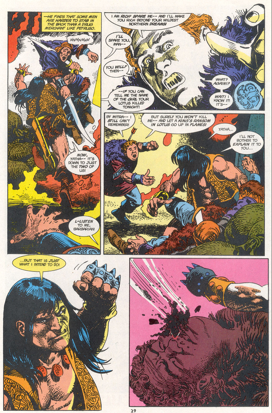 Conan the Barbarian (1970) Issue #273 #285 - English 21