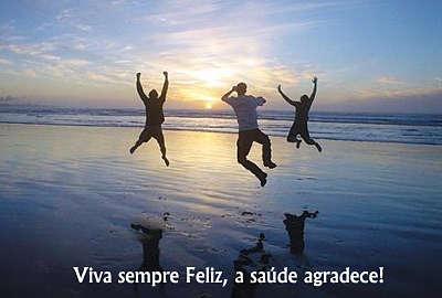 Viva sempre feliz