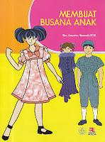 toko buku rahma: buku MEMBUAT BUSANA ANAK, pengarang uswatun hasanah, penerbit rosda