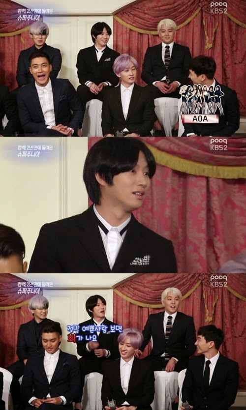 Super Junior's Heechul threatened by girl group AOA