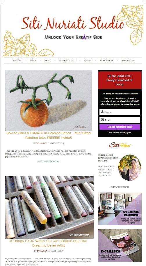 Siti Nuriati Studio Blog