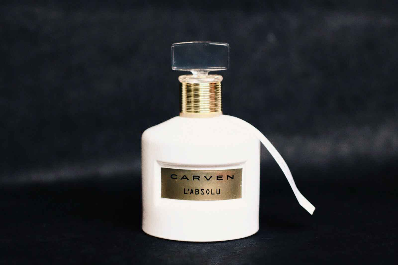 carven l'absolu parfum avis test