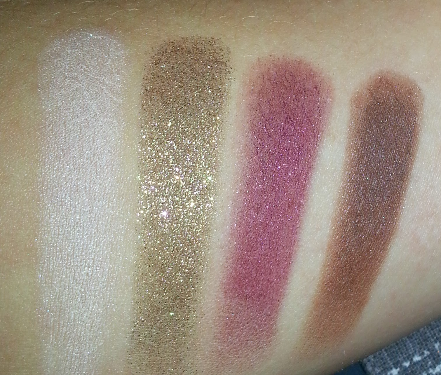 Megan Niak x ColourPop Swatches