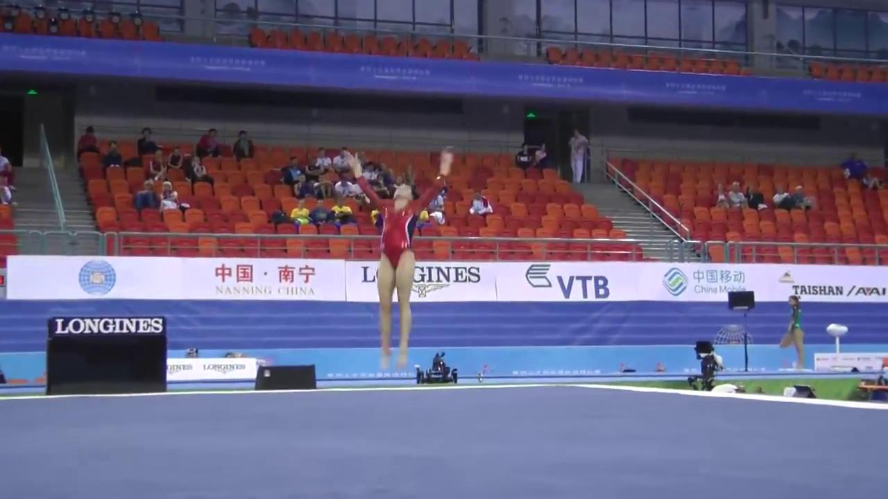 Gymnastics And More Alyssa Baumann Floor Exercise
