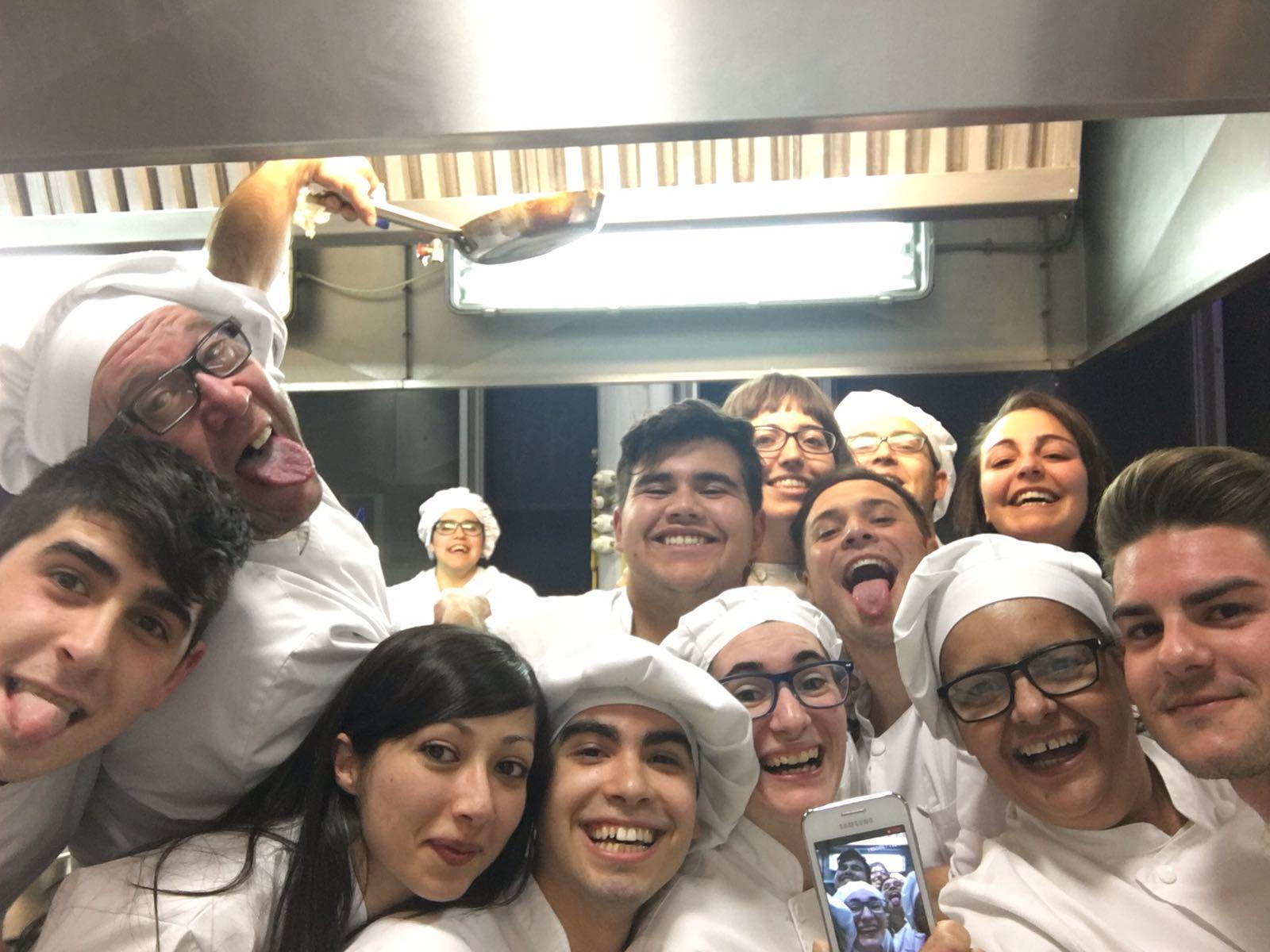 Ultimo curso Graduados en Cocina y Gastronomía 2016
