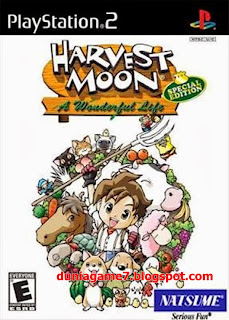 Harvest Moon: A Wonderful Life PS2 ISO
