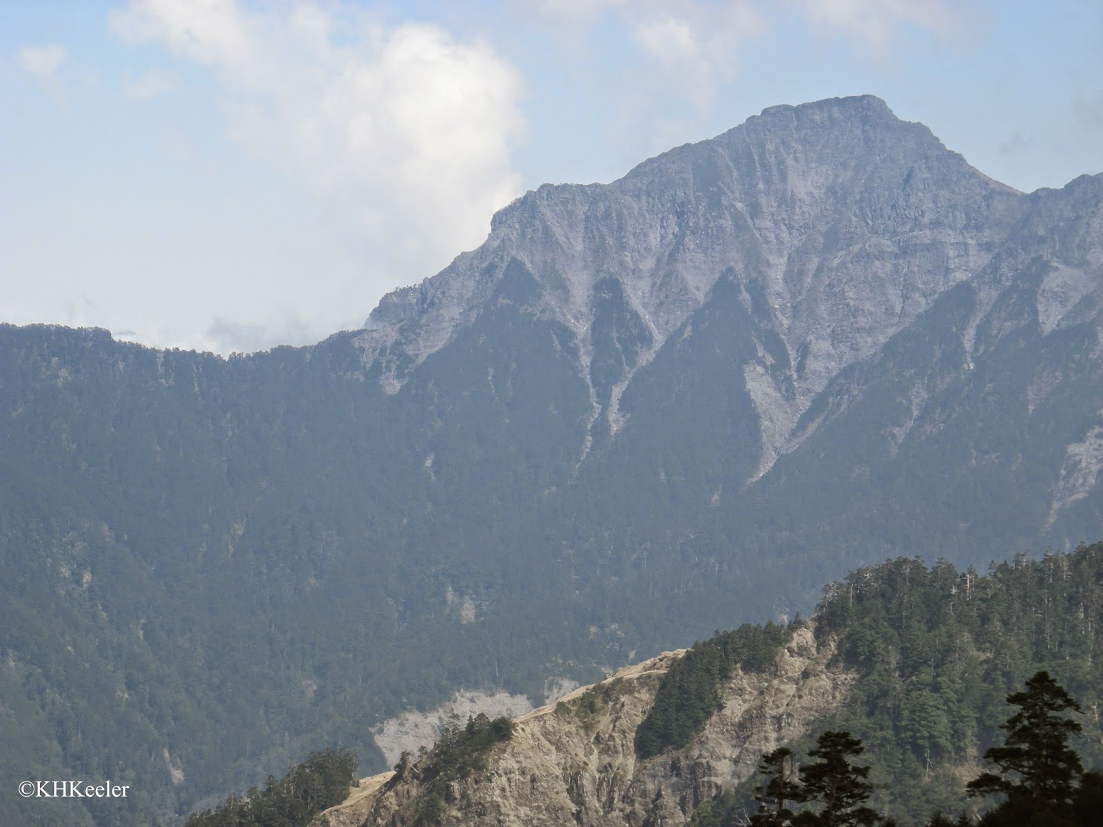 mountains of Taiwan