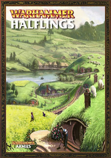 WFB Halfings Army Book PDF cover