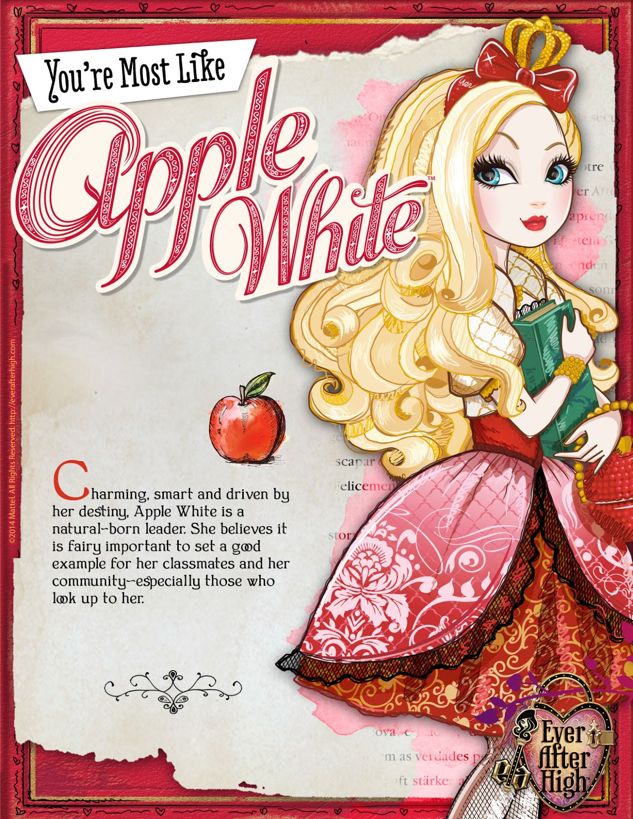 This is a graphic of Terrible Ever After High Pictures