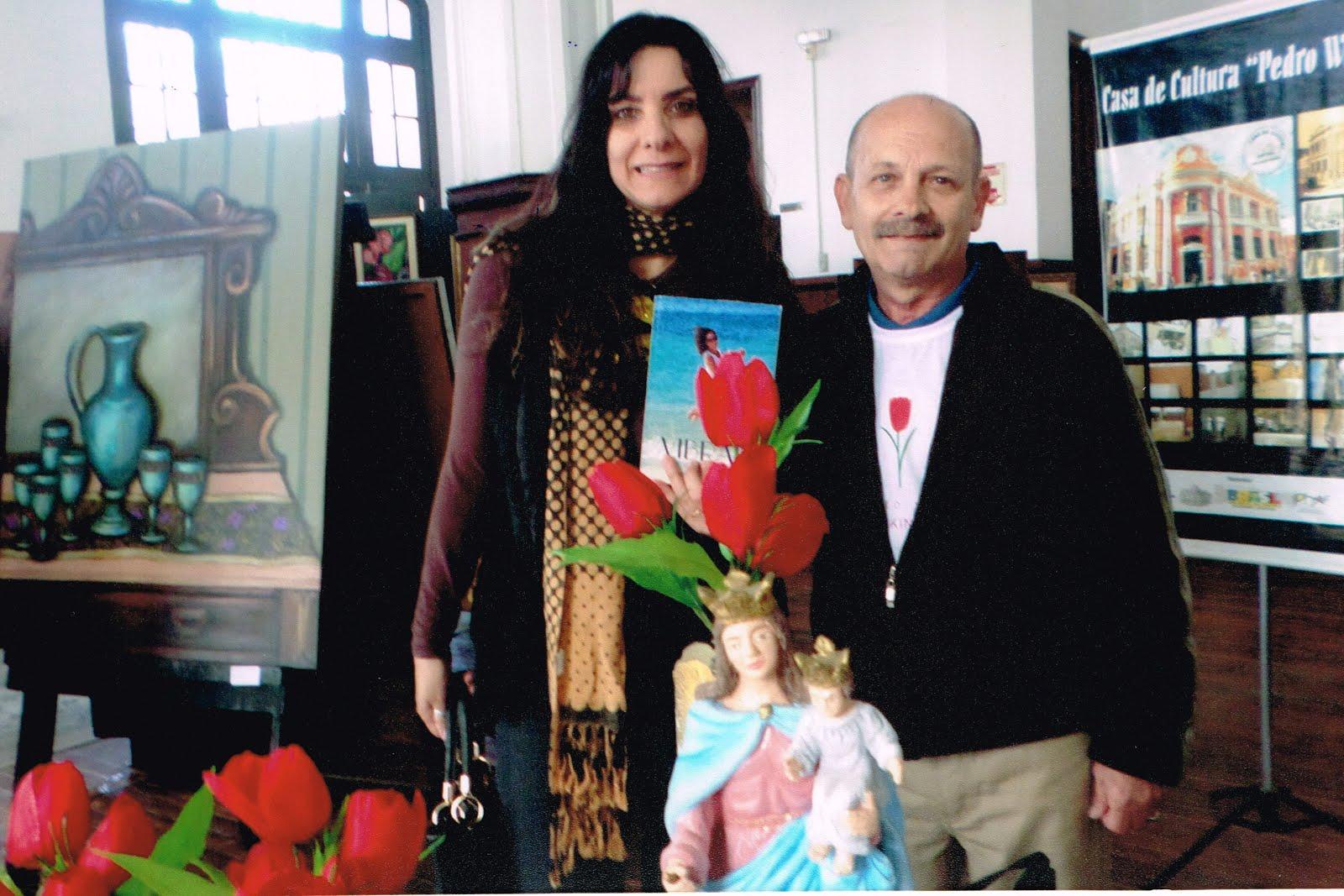 Manoel Ianzer e Anacarla Flores