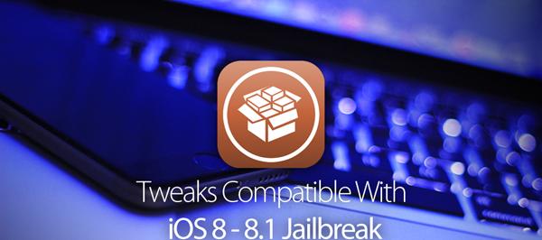 Working & Compatible Cydia iOS 8.1 / 8.0.x Jailbreak Tweaks & Apps