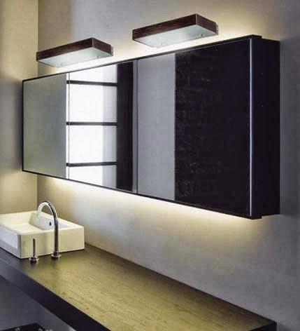 Luminaria apliques para espejo de ba o for Apliques bano
