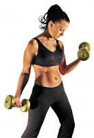 como tener un cuerpo en forma. ejercicios con mancuernas. ejercicios con pesas. El ritmo metabolico basal. el metabolismo
