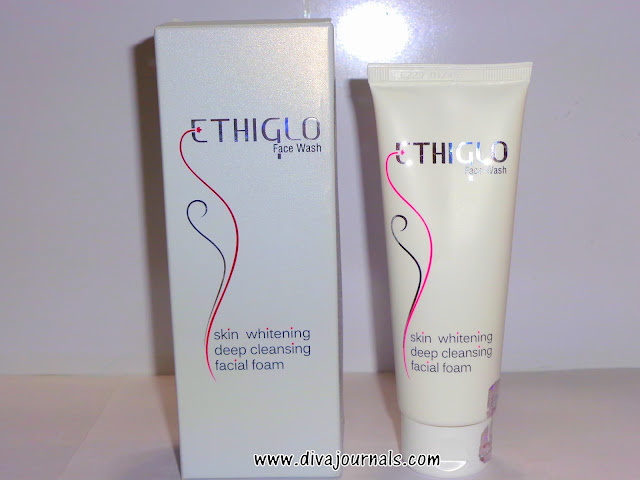 EthiGlo Skin Whitening Deep Cleansing Facial Foam Review