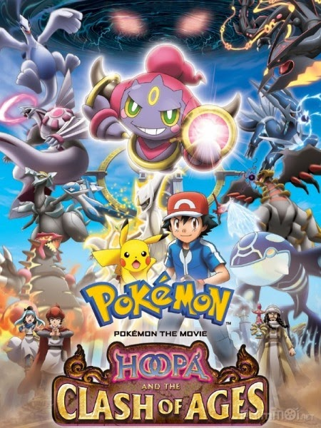 Pokemon Movie 18: Hoopa và Cuộc Chiến Pokemon Huyền Thoại - Pokémon Movie 18: Hoopa and the Clash of Ages -  2015