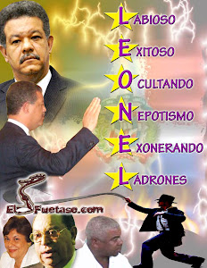 Leonel exonera y protege ladrones