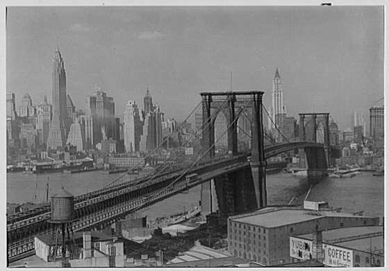 Brooklyn Bridge, 1932