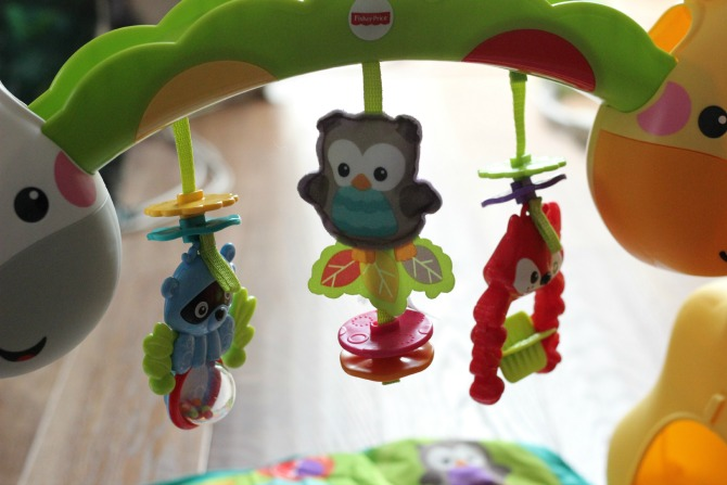 Dangling toys