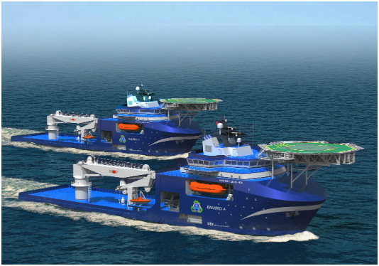 Wärtsilä to Look After Harvey Gulf's Newbuilds