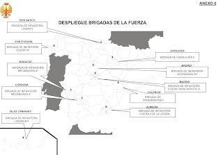 Base de l'armée espagnol