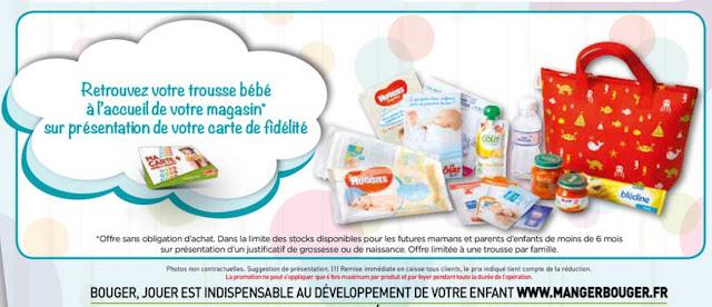 Trousse de naissance Vanity bébé Gratuit Simply Market