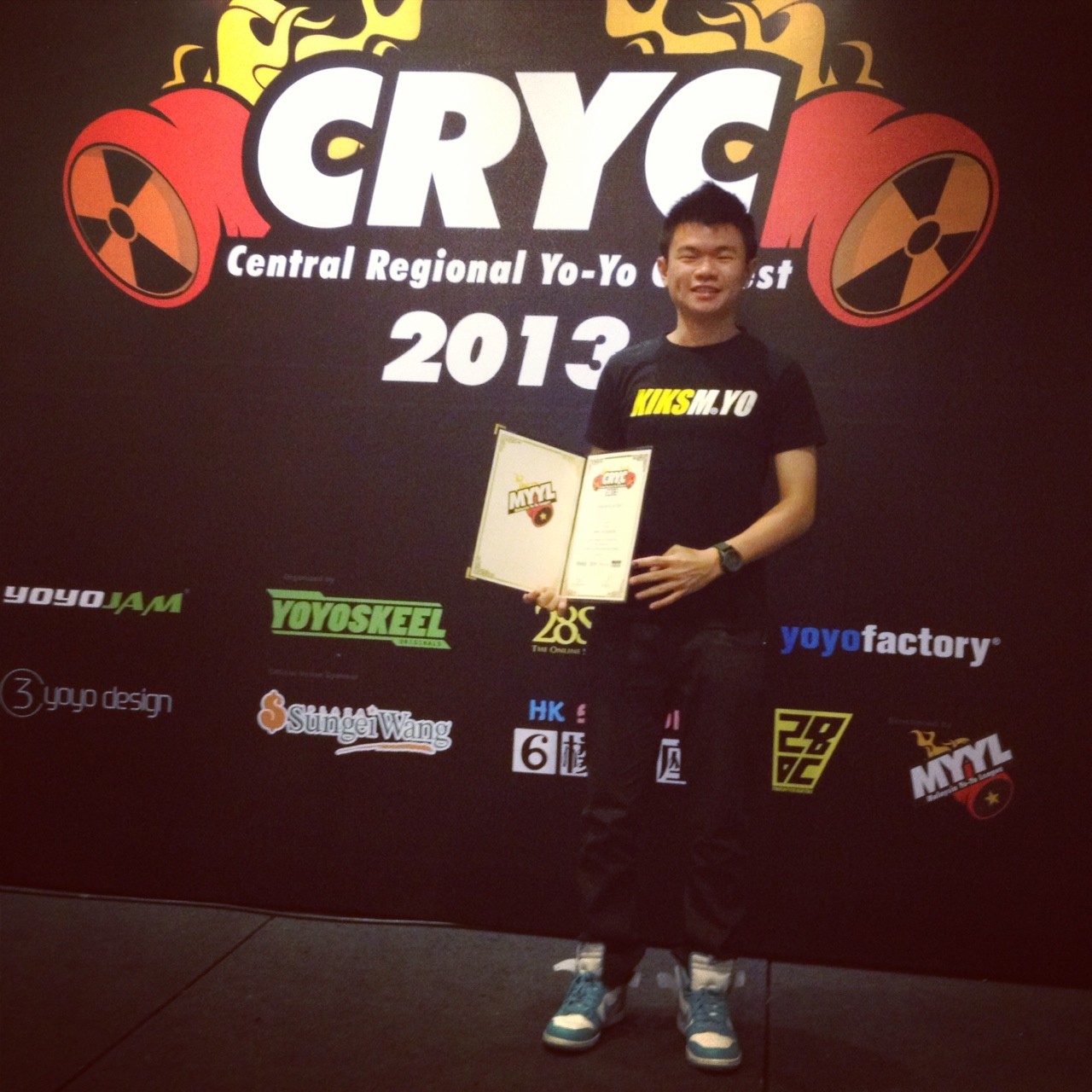 I WON CRYC 2013. SG WANG KL