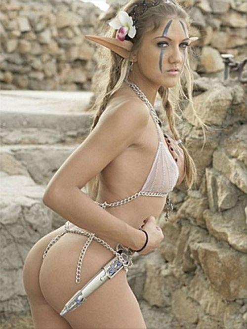 Ảnh gái xinh khoe bưởi trong lễ hội Cosplay 9