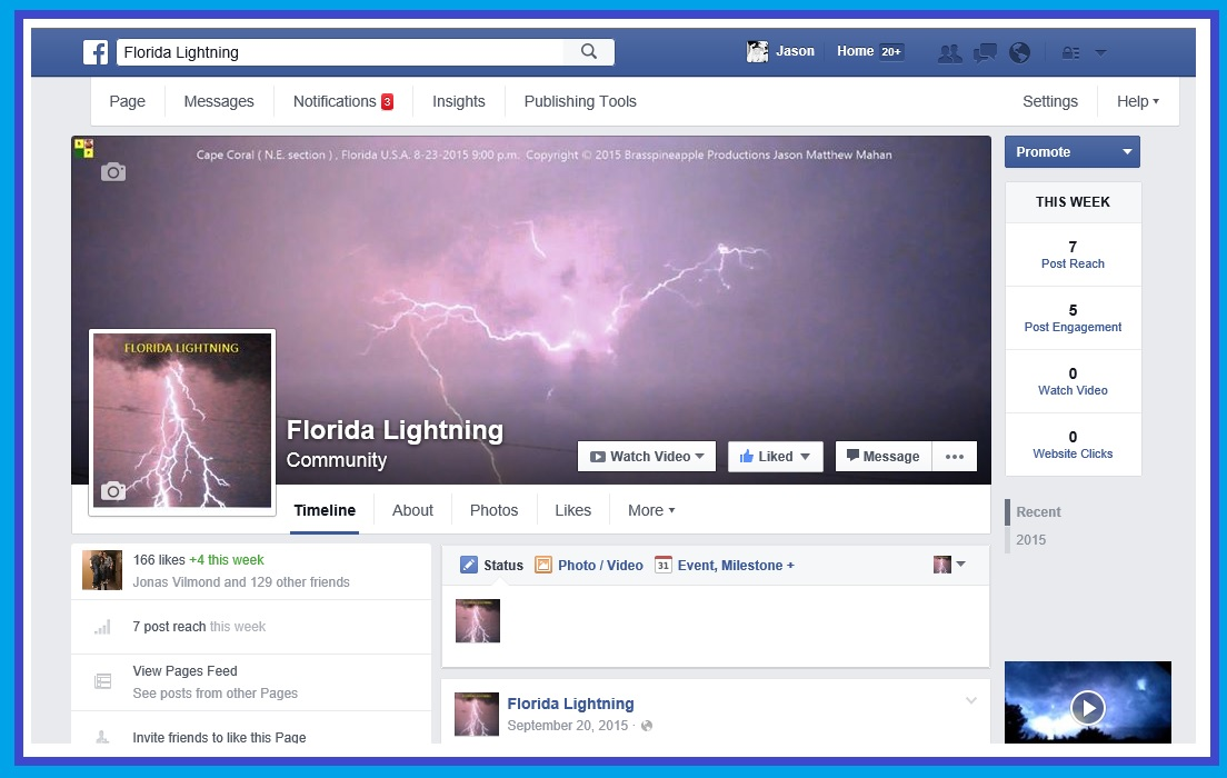 Florida Lightning ( Facebook Page )